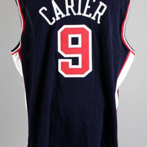 2000 Vince Carter Game-Worn Team USA Jersey