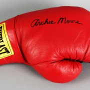 Archie Moore Signed Boxing Glove - JSA
