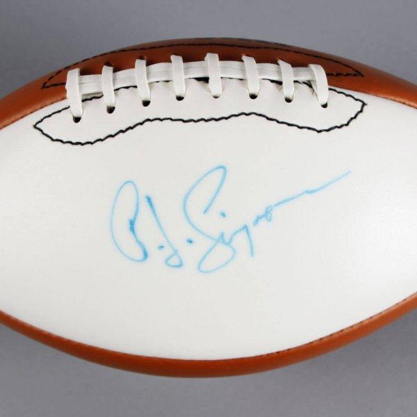 O.J. Simpson Signed Football - JSA
