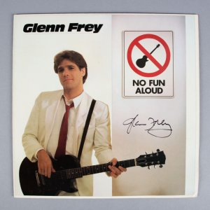 Glenn Frey Signed No Fun Aloud Album - JSA