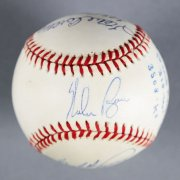 300 Wins/3000 Strikeouts Multi-Signed Baseball - Nolan Ryan etc. - JSA