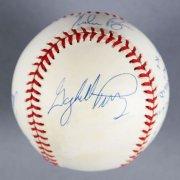 300 Wins/3000 Strikeouts Multi-Signed Baseball - Nolan Ryan etc. - JSA