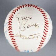 500 HR Club Multi-Signed Baseball - Mickey Mantle etc. - JSA