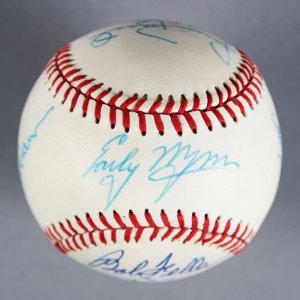 HOF MLB Pitchers Multi-Signed Baseball - Early Wynn etc. - JSA