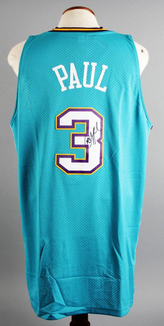 9f54b01eee9 Chris Paul Signed New Orleans Hornets Jersey – COA PSA DNA ...