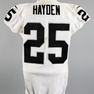 2014 D.J. Hayden Game-Worn Oakland Raiders Jersey (11/16) COA NFL PSA/DNA & 100% Team