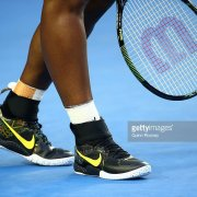 2016 Serena Williams Australian Open Match-Worn Tennis Shoes Sneakers 100% Team