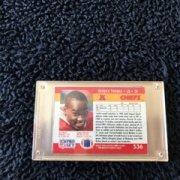 Signed Derrick Thomas KC Chiefs Auto 1990 Pro Set Trading Card