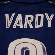 A Jamie Vardy Game-Used #9 Leicester City FC Home Shirt.  2016/17 UEFA Champions League.