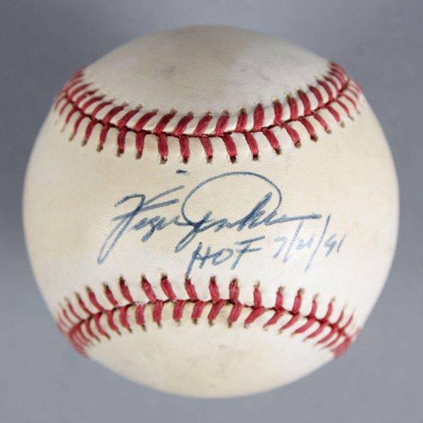Ferguson Jenkins Signed Chicago Cubs Baseball - COA