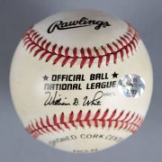 Ferguson Jenkins Signed Chicago Cubs Baseball - COA