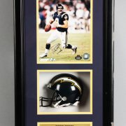 San Diego Chargers - Drew Brees Signed Photo Display - COA