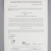 Andy Warhol Signed Magazine 1986 Art & Text Magazine - JSA