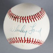 Whitey Ford Signed New York Yankees Baseball - COA JSA