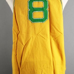 1968 Joe Rudi Game-Worn Oakland A's Flannel Vest Jersey - COA 100% Team