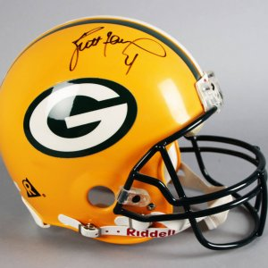Brett Favre Signed Green Bay Packers Full Size Helmet