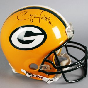 Clay Matthews Signed Green Bay Packers Full Size Helmet