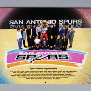 David Robinson Signed San Antonio Spurs Calendar