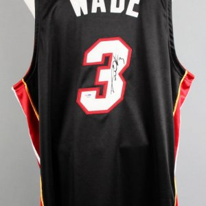 Dwayne Wade Signed Miami Heat Jersey - COA PSA/DNA