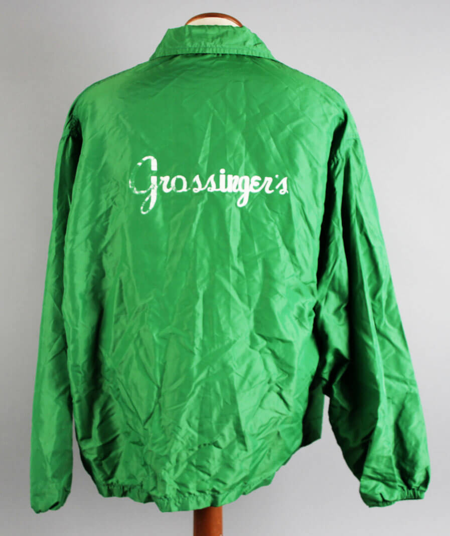 Jerry Quarry Personal Used Worn Grossinger's Training Camp Jacket - COA Family Letter