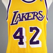 0ed9c7e5305 ... 1989 James Worthy Game-Worn Los Angeles Lakers Jersey - COA 100% Team  ...