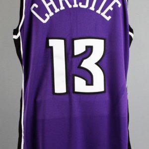 2002-03 Doug Christie Game-Worn Sacramento Kings Jersey - COA 100% Team