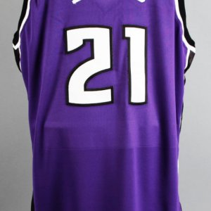 2002-03 Vlade Divac Game-Worn Sacramento Kings Jersey