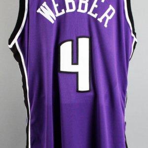 2002-03 Chris Webber Game-Worn Sacramento Kings Jersey & Shooting Shirt