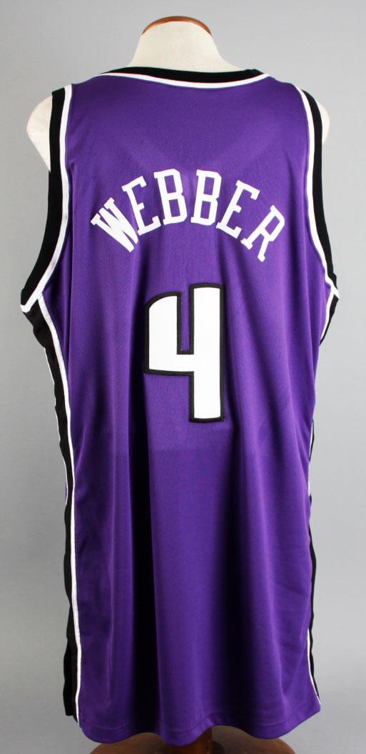 the latest fbc07 f6308 2002-03 Chris Webber Game-Worn Sacramento Kings Jersey & Shooting Shirt