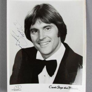 Bruce Jenner Signed 8x10 Photo - COA JSA