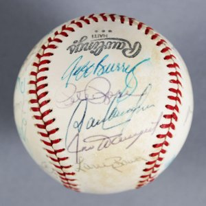 1978 National League All-Star Team Signed ONL (Feeney) Ball
