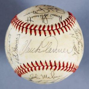 1979 World Series Pittsburgh Pirates Team-Signed ONL (Feeney ) Ball  MVP Stargell, Tanner