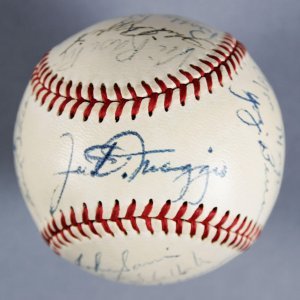1951 NY Yankees (WSC) Team-Signed (OAL) Harridge Baseball - JSA