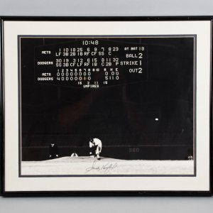 Sandy Koufax Signed 16x20 Los Angeles Dodgers Photo Display - COA