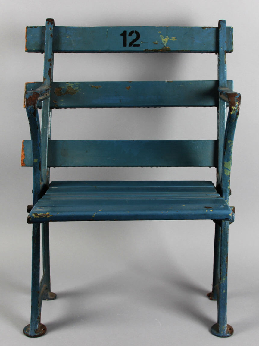 New York Yankees Vintage Stadium Chair (From Original Yankee Stadium)