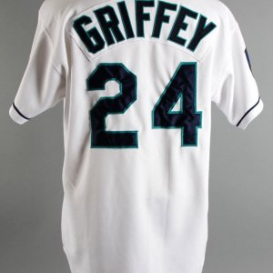 1994 Ken Griffey Jr. Game-Worn Seattle Mariners Jersey COA 100% Team