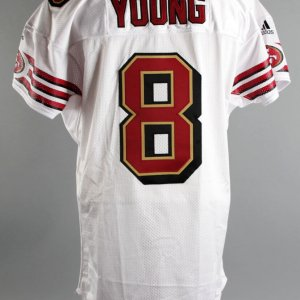 2000 Steve Young Game-Issued SF 49er's Jersey
