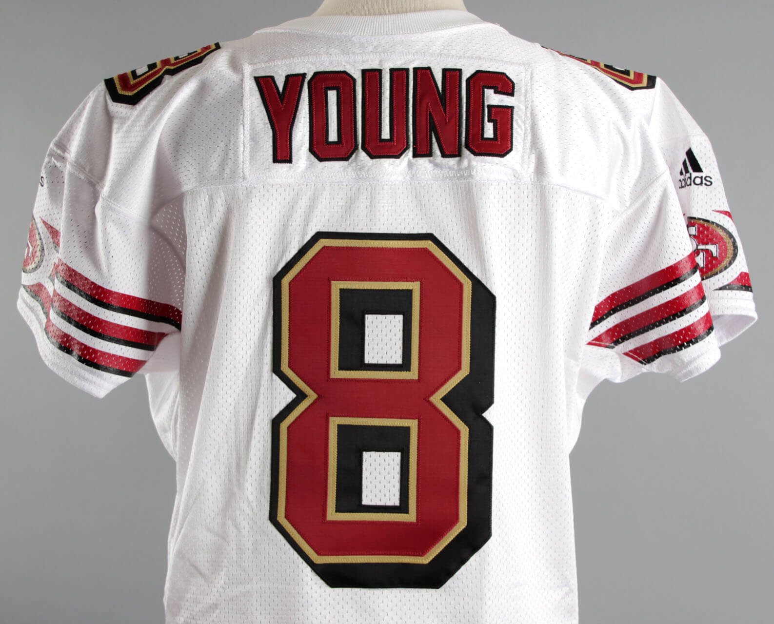 buy online e0a56 98bbc 2000 Steve Young Game-Issued Jersey SF 49ers – COA   Memorabilia Expert