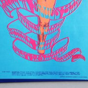 1967 The Steve Miller Blues Band Concert Poster  Avalon Ballroom, San Francisco [(Second Printing) by Artists Stanley Mouse & Alton Kelley]
