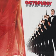 1983 Octopussy One Sheet James Bond Movie Poster -Advance Style A