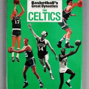 Basketball's Great Dynasties The Celtics Multi-Signed Book (16) Red Auerbach, Bob Cousy, Bill Russell etc. - JSA