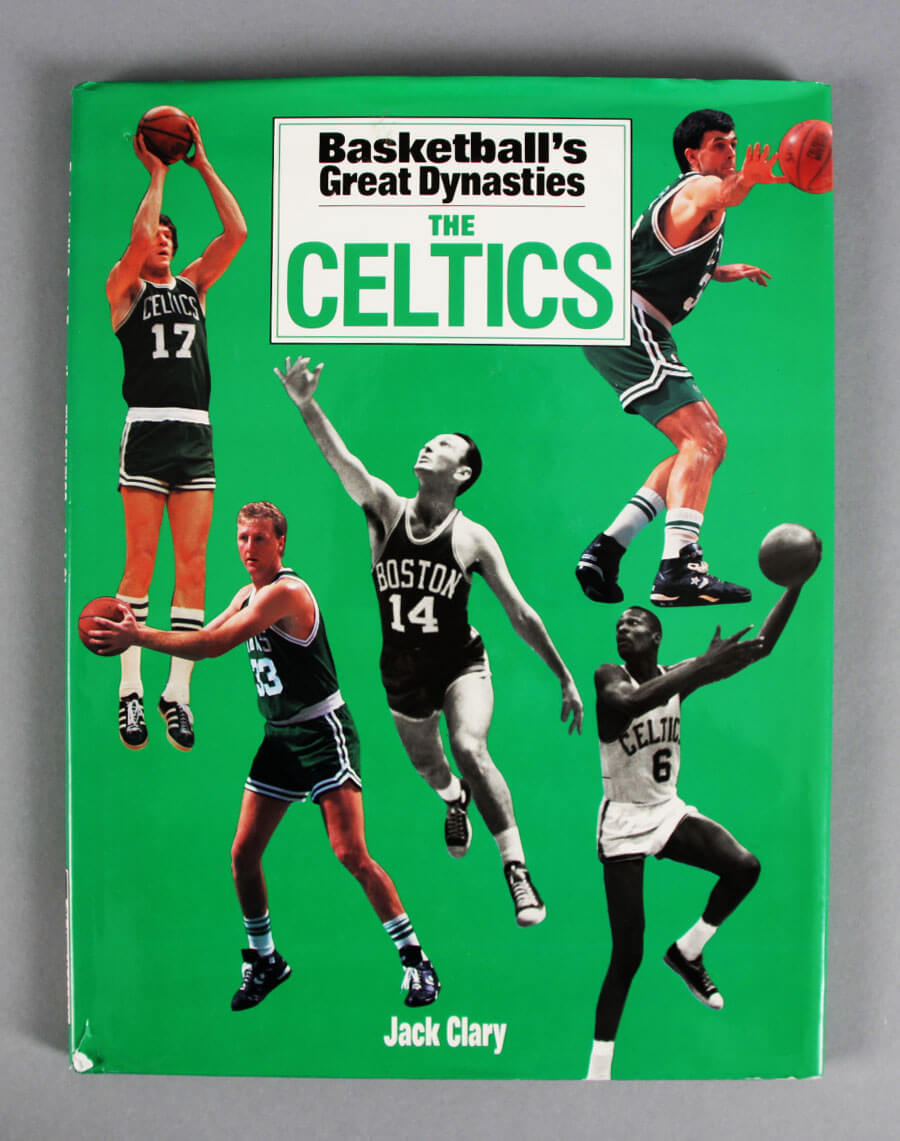 8d0a5c12d Basketball s Great Dynasties The Celtics Multi-Signed Book (16) Red  Auerbach