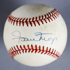 Willie Mays Signed New York/SF Giants Baseball - JSA
