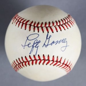 Lefty Gomez Signed New York Yankees Baseball - JSA