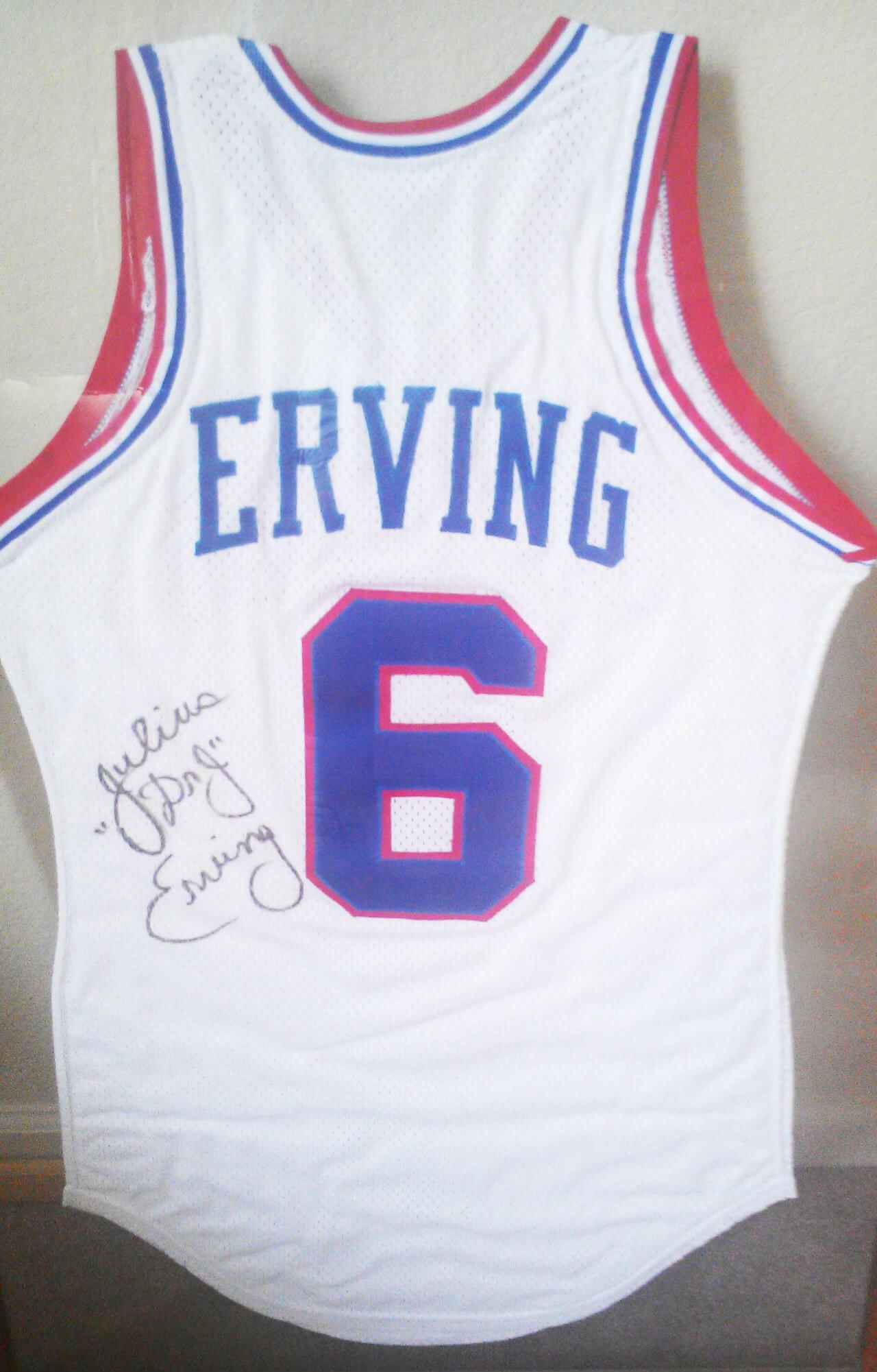 sports shoes ea2b6 d990a 1984-85 Philadelphia 76ers Julius Erving Dr. J. Game-Worn ...