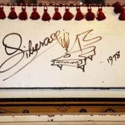 Liberace's Piano- Signed and Stage-Used c.1906 Upright Piano Rhinestone Decorated (Traveling)