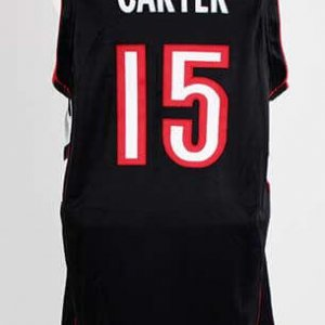 2000-01 Vince Carter Game-Worn Toronto Raptors Jersey COA 100% Authetic Team