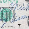 Sonny Liston Signed $100 Dollar Bill - JSA Full LOA