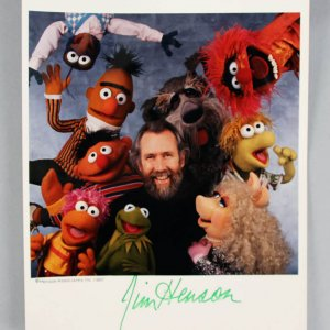 "Jim Henson Signed ""The Muppets"" 8x10 Photo - JSA"