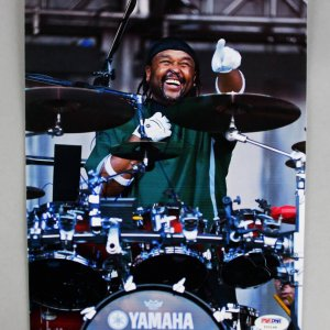 Dave Matthews Band Carter Beauford Signed  8x10 Color Photo - COA PSA/DNA